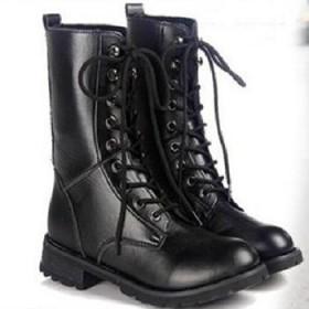 冬靴骑士靴女靴子机车靴马丁靴女鞋短靴皮靴