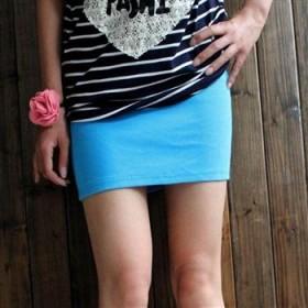 夏季必备性感百搭短裙 时尚A字包臀裙