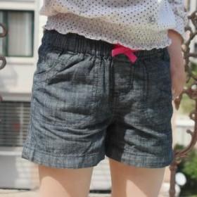 松紧腰带女小童牛仔短裤子小蝴蝶结特价2013新品