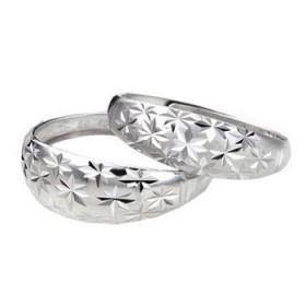 品牌 S925纯银戒指 男女情侣均可 大小可调 不满意包退