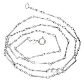 百搭细链 S925纯银项链女 扭片锁骨项链 单戴配坠俱佳