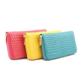 唯诺格女包 2013新款包包 日韩风范石头纹真皮钱包