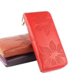 唯诺格女包 2013新款包包 欧美时尚范真皮钱包