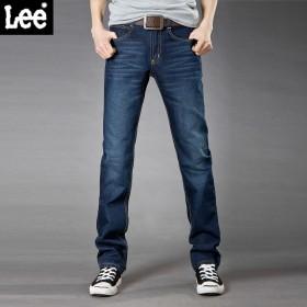 LEE/李牌 品牌中腰青年直筒裤子
