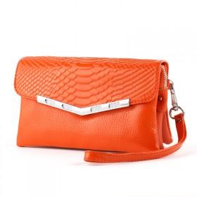 双十一促销 欧美时尚牛皮手拿包包 鳄鱼纹斜跨小包