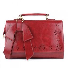 2013新款女包 时尚蝴蝶结手提包 箱型品牌单肩斜跨包