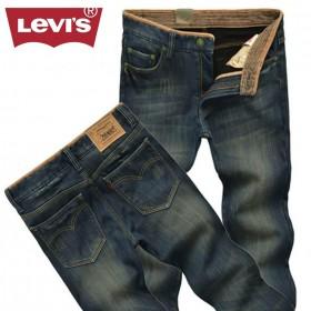 【加绒款】Levi's/李维斯冬季加绒保暖牛仔裤