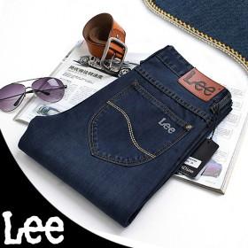 【套餐】LEE/李牌 品牌中腰青年直筒裤 和一双袜子