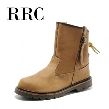 RRC冬季必备马丁真皮靴潮男必备