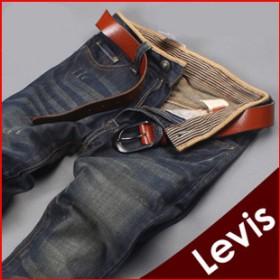 【套餐】Levi's李维斯品牌复古做旧牛仔裤加1双袜子