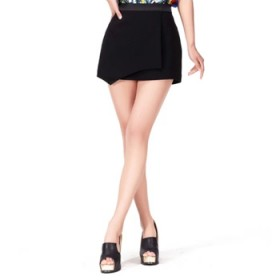 【XIYO】优雅 品质 不对称 欧美 时尚短裙 夏