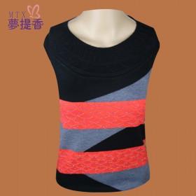 2014春季新款 时尚妈妈装长袖针织衫