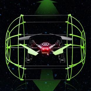 【包邮】 玩具四旋翼遥控飞机 四轴飞行器爬墙器(185元款)