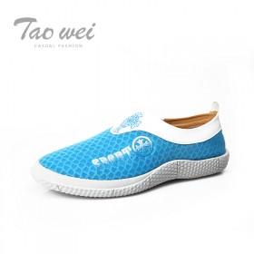 涛威2014新款夏季低帮鞋流行男鞋英伦时尚透气网鞋休闲