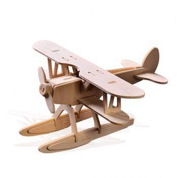 儿童手工制作玩具 木质拼图模型