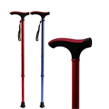 正品老年人超轻彩色拐杖