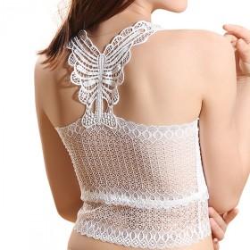 性感薄款蕾丝吊带裹胸抹胸内衣