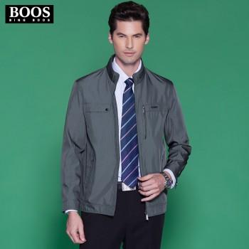 boos中老年男装夹克休闲