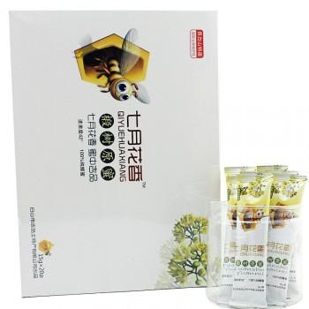 七月花香纯椴树蜜 野生蜂蜜纯天然