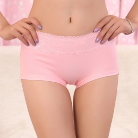 请拍3条 莱卡棉中腰女式三角内裤