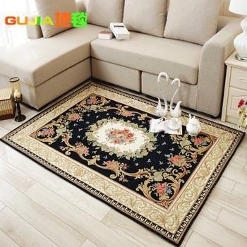 欧式地垫 时尚卧室床前地毯40×60厘米