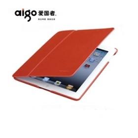 爱国者 真皮苹果iPad4保护套 ipad3外壳 ipad2外套