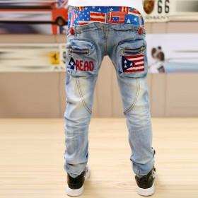 男童牛仔裤长裤子
