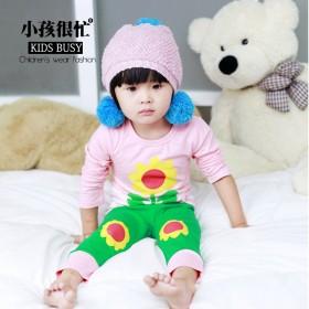 儿童内衣套装纯棉秋衣秋裤宝宝睡衣