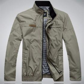 舵轮男士立领夹克衫 秋装上衣外套