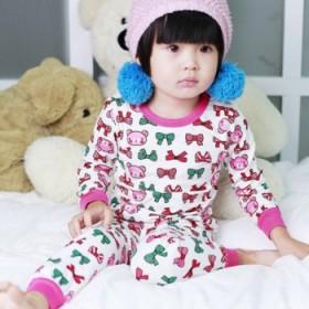 秋款儿童婴儿内衣秋衣莱卡棉套装