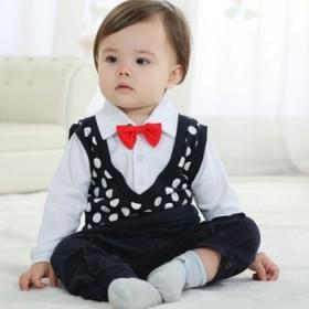 宝宝绅士3件套礼服
