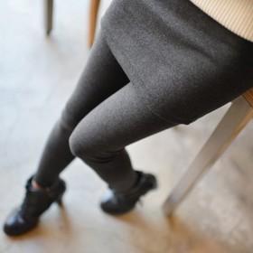假两件打底裤裙裤外穿冬2014