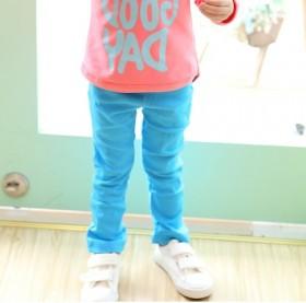 女童铅笔裤长裤子