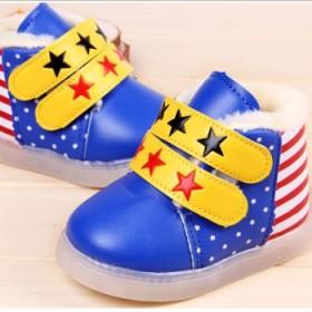 宝宝发光鞋闪灯鞋
