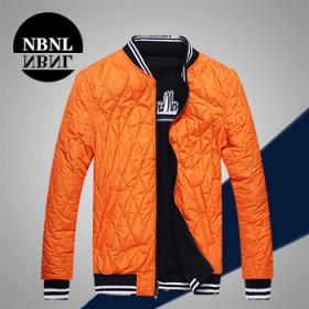 nbnl男士休闲长袖夹克短外套