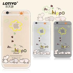 iphone6手机壳硅胶软壳苹果6保护外套薄透明