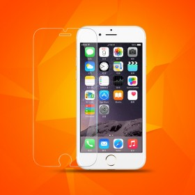 iphone6plus钢化膜全屏钢化人参苹果高清韩国贴膜包装设计图片