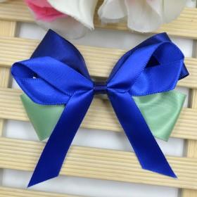 新款缎带丝带蝴蝶结手工发夹头饰发饰DIY材料包配件
