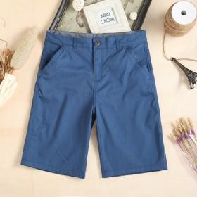 巴西原单男士夏款纯棉透气五分休闲短裤