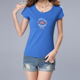 外贸原单大码女装短袖T恤