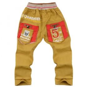 童装童裤秋季中童小童新款儿童长裤休闲男童单裤