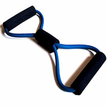 拉力带二头肌锻炼方法图解