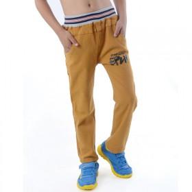 男童秋冬季裤子加厚男童运动裤中大童儿童纯棉休闲裤
