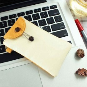 Iphone4S保护外套PU皮料帆布材质