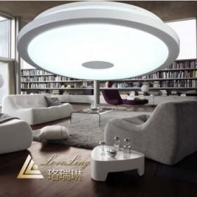 现代简约时尚LED圆形吸顶灯 客厅卧室大气灯具