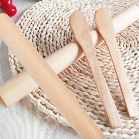 实木擀面杖 擀面棍 天然荷木擀面棒 烘焙工具四件套