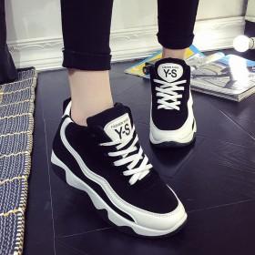 韩国爆款 增高显瘦高帮 百搭休闲鞋 旅游必备款