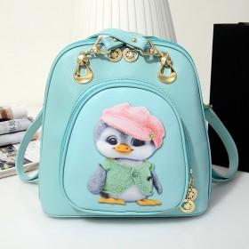 新款包包两用印花单肩双肩包女背包