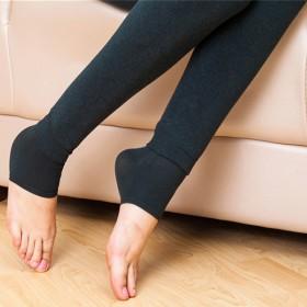 350g加绒加厚 女士打底裤 保暖长裤