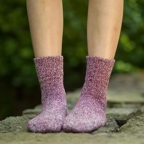 5双装冬季韩国学生羊毛袜子女保暖加厚文艺中筒袜